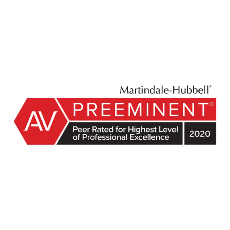 AV highest level of professional excellence 2020