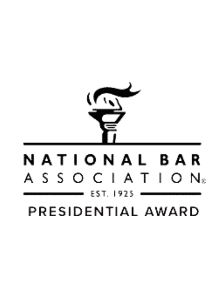 national bar assoc. presidential award