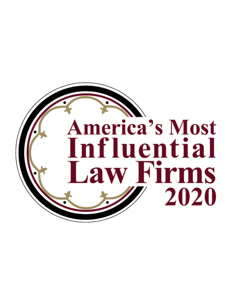 america's most influential law firms 2020