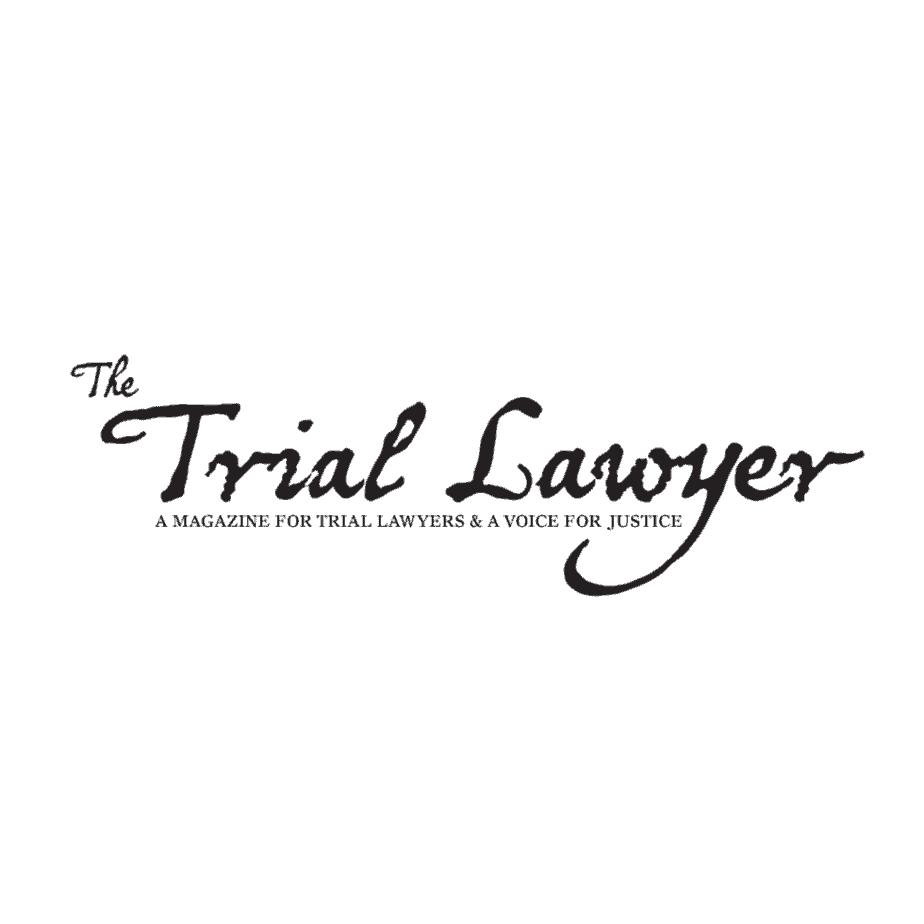 trial lawyer magazine logo