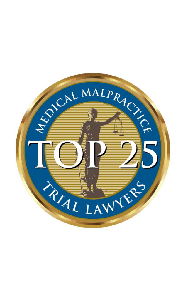 medical malpractice top 25 lawyers