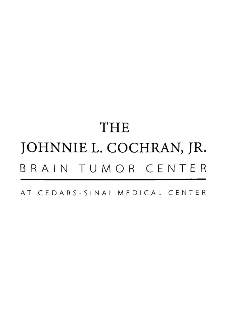img-The Johnnie L. Cochran, JR. Brain Tumor Center