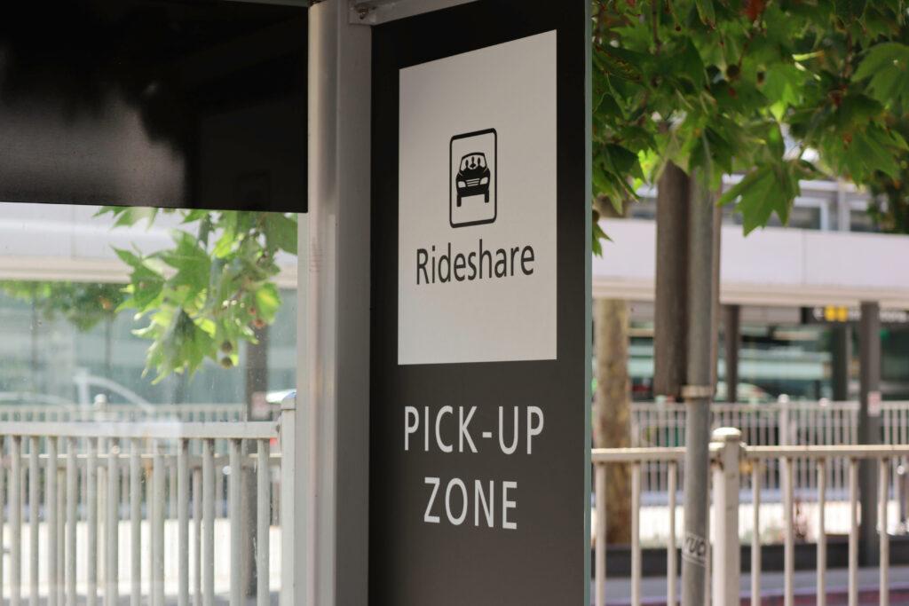 Rideshare Pick-up Zone